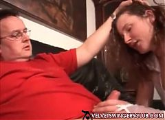 Velvet Swingers Club members in sex club having fun