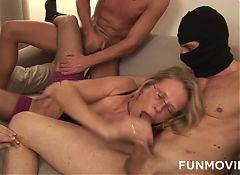 Amateur Granny Bondage