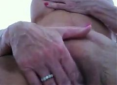 Sexy Granny Playing With Herself