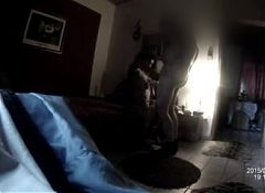 Bangladeshi whorehouse - Black hooker - spy cam