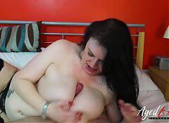 AgedLovE Sexy Mature Jade Hardcore