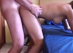 Sex with daddies hairy friend.
