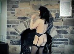 BIG IN JAPAN - vintage hairy British striptease stockings