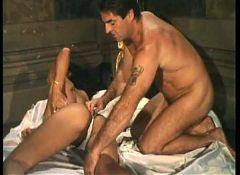 Moana Pozzi and Rocco Siffredi anal orgy - Anal Stars (1991)
