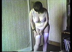Helen Strips Out of Her White Dress