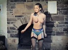SATURDAY NIGHT - vintage stockings strip dance