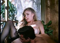 Moana Pozzi and Peter North Sex scene - Naked Goddess (1991)