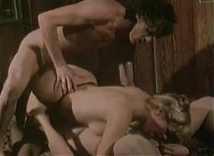 vintage retro big cock threesome lingerie facial cumshot