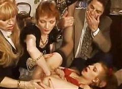 Babette Blue and Friends -- Retro Fisting