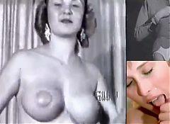 Vintage Retro Swing, Women Burlesque Dance