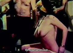 Meeting Turns into a Sex Orgy (1960s Vintage)