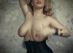 FEELING WILD - vintage big boobs erotic dance stockings