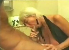 Mature woman blowjob