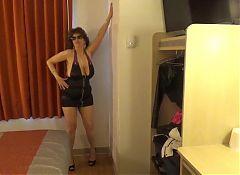 Tinja Rocks A Zipper Mini Dress