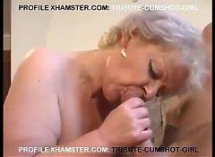 SEXY BBW BLONDE MATURE FUCKING BOY.