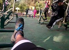 Madura haciendo ejercicio