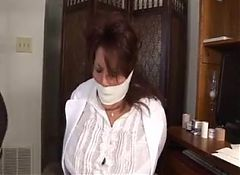 Doctor bound and gagged