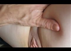 Horny wife slut squirting!