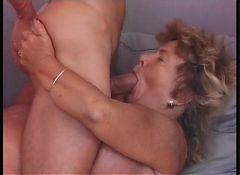 Big tits granny's sex