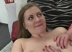 Old lesbian fucks her young girl