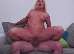 Sexy mature mother suck and fuck hard cock