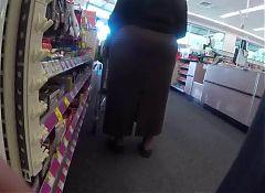 Phat Ass Stuffed In Skirt