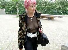 Black top and leggings