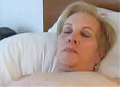 Aunt Sue relaxing masterbation