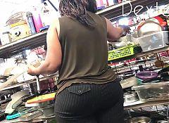 Bubble Butt Ebony Grandma