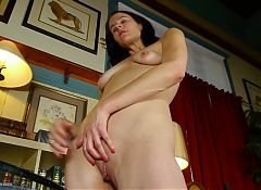 Amateur MILFs with wet soaking vaginas
