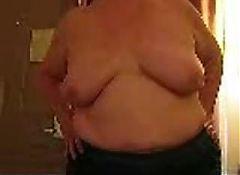 My big granny tits