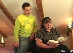Big boobs bookworm woman