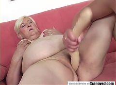 Fat grandma fucked hard