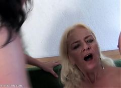 Mature Fuck Party with three MILFs