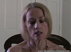 Melanie Begs For Her Job