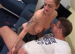 Mature slut mother suck and fuck big fat cock