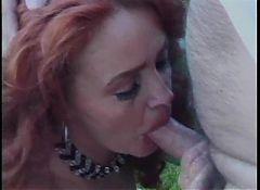 Madison Harris fucks and piss