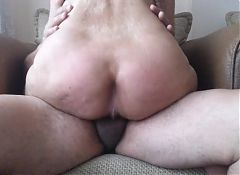 Cowgirl sex with friends wife
