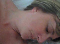 UK wife get face of cum