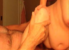 Cumming in chubby wifes cunt