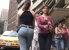 Candid latina big ass