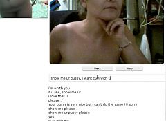 Milf on chatroullette