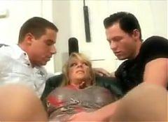 Hot Milf & Her Bi Male Friends