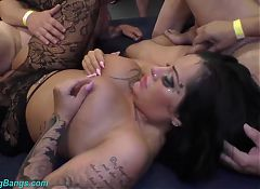 wild orgy with busty Milf Ashley Cum Star
