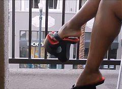 Lisa Ann's Platform Thongs