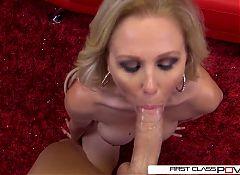 Julia Ann is one well seasoned dick sucking pro