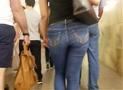 MILF with wide ass