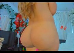 Hot Ass Blonde Babe Camshow