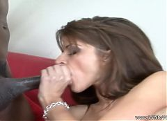 Big Tit Brunette MILF and BBC