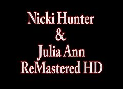 Julia Ann Plays with Nicki Hunter in Hot Girl Girl!